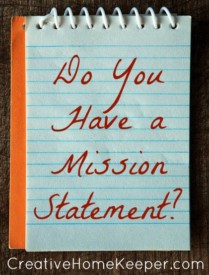 Do you have a mission statement