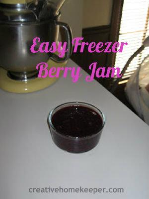 Freezer Berry Jam