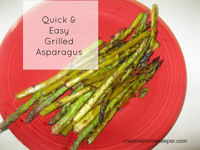Quick and Easy Grilled Asparagus