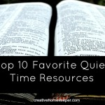 Top 10 Quiet Time Resources