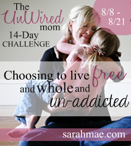 The UnWired Mom Challenge