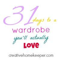 31 Days to a Wardrobe You'll Actually Love