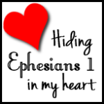 Hiding Ephesians in My Heart