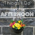 6 Things I Do Every Afternoon {Daily Routines Series Part 3}