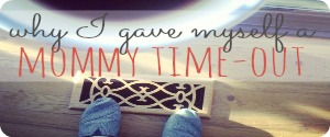 Why I Gave Myself a Mommy Time-Out: When the day is going down hill, sometimes we just need to take a mommy time-out and phone home to God allowing His words to sink in and truly listen to Him. | CreativeHomeKeeper.com