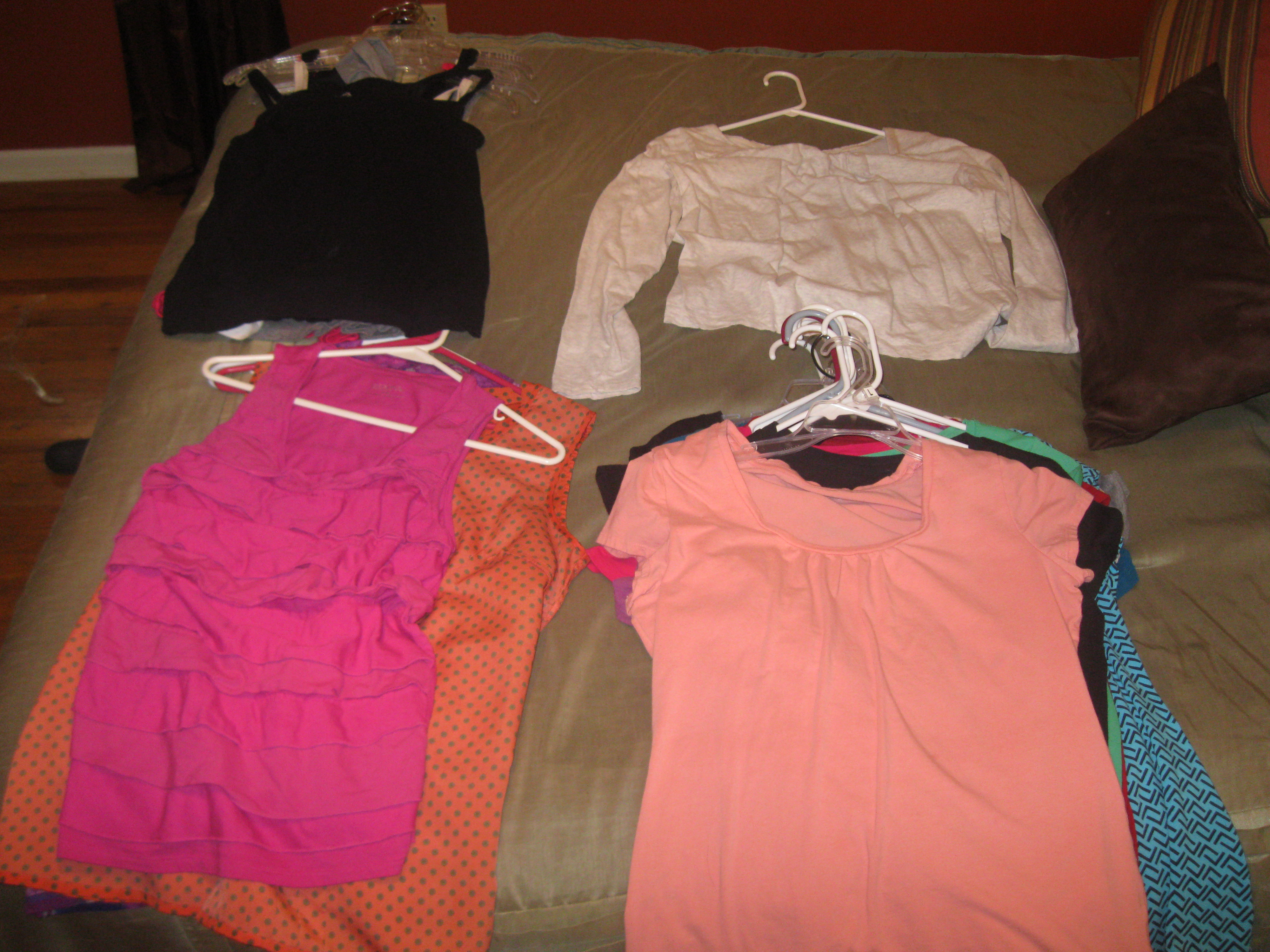 T-Shirts, Tanks, and Camisoles {Day 8}