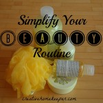 Simplify Your Beauty Routine {Day 19}