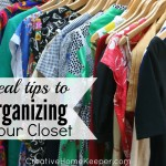 Real Tips to Organize Your Closet {Day 20}