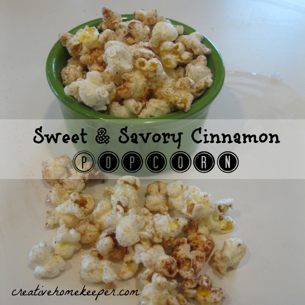 This sweet and savory popcorn recipe combines the sweet flavors of sugar and cinnamon with the savory flavors of butter and salt. This snack is sure to be a delicious hit with your family.