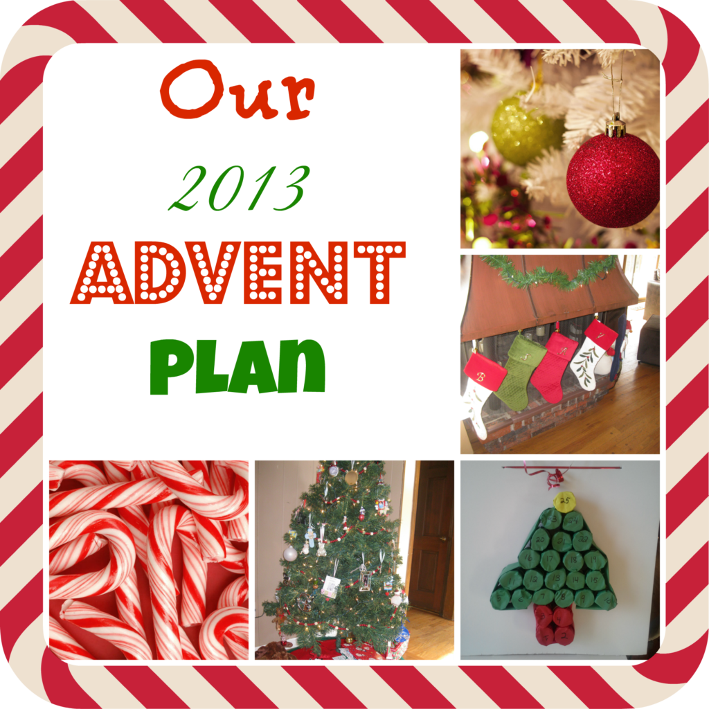 2013 advent plan