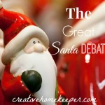 The Great Santa Debate {How Do You Balance the Traditions?}