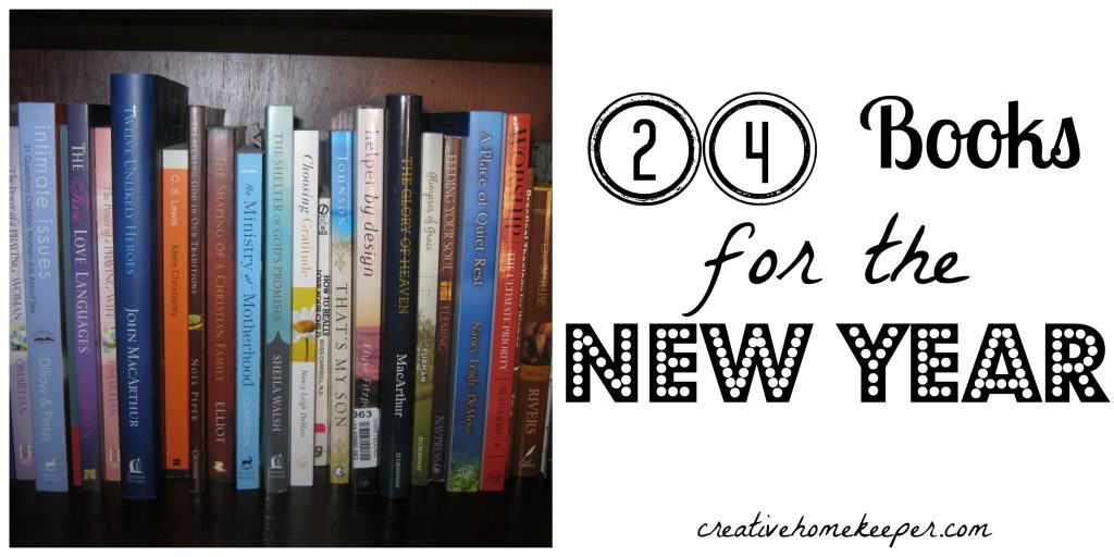24 books for the new year