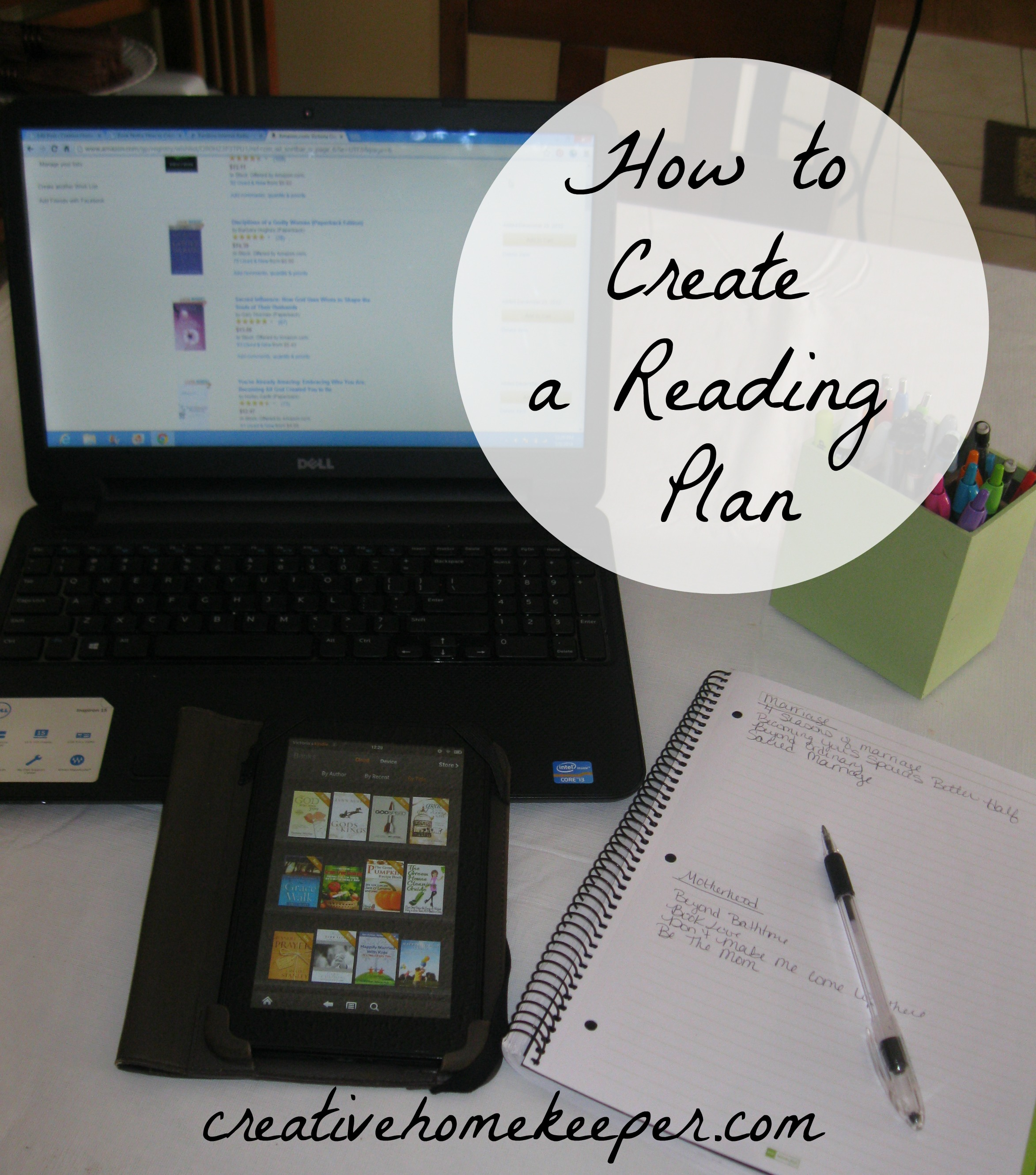 Book Notes: How to Create a Reading Plan {link-up}