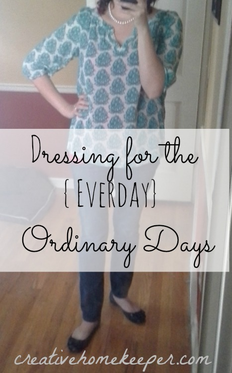 dressing for the ordinary days