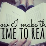 Making Time to Read