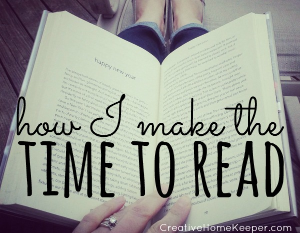 Love to read but feel like you never have the time? Making time to read is so important but we have to be intentional about it if it's going to happen. These 5 easy ways will help you fit reading into your busy days.