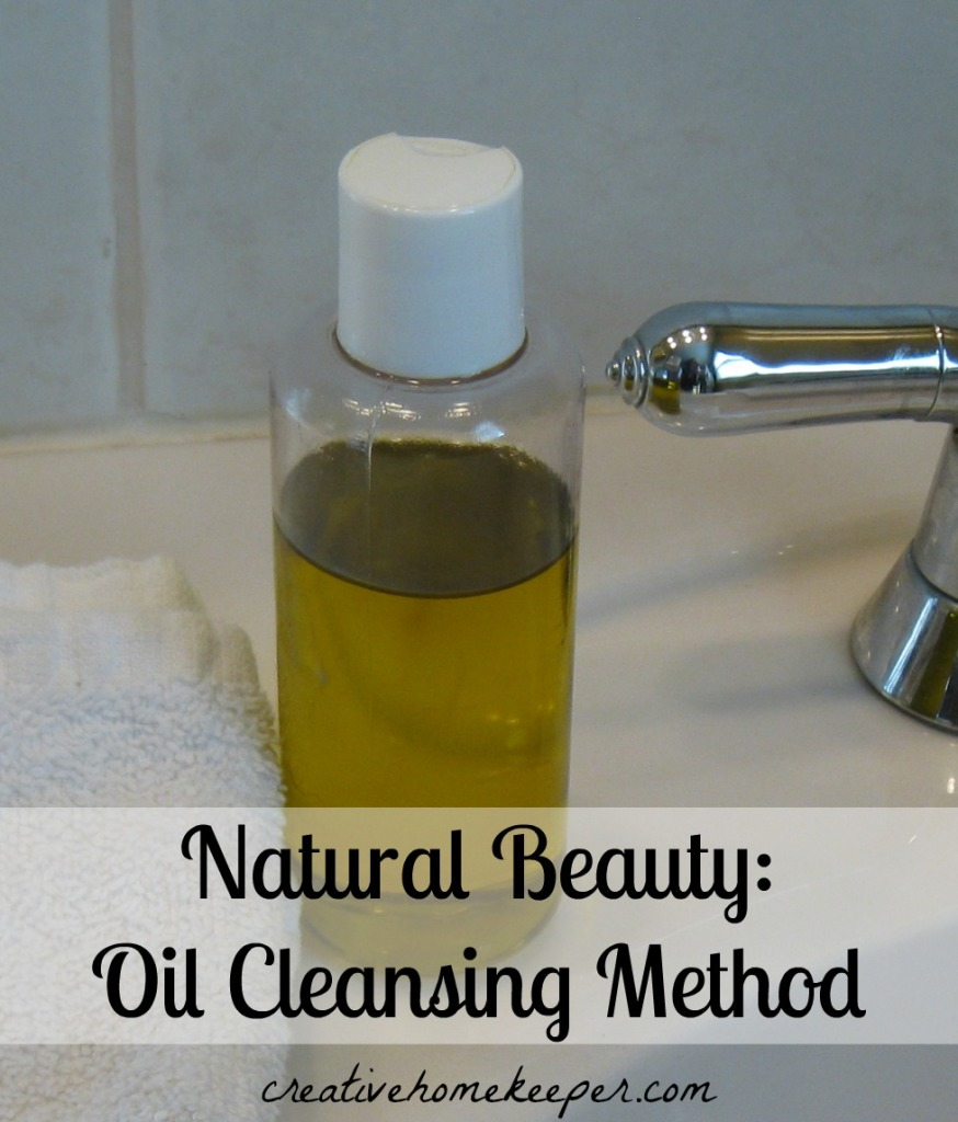 Natural Beauty: Oil Cleansing Method - a frugal and natural way to clean and moisturize your face
