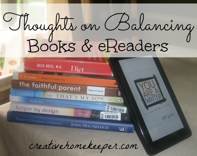 balancing books and eReaders