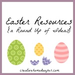 Easter Resources {a Round-Up}