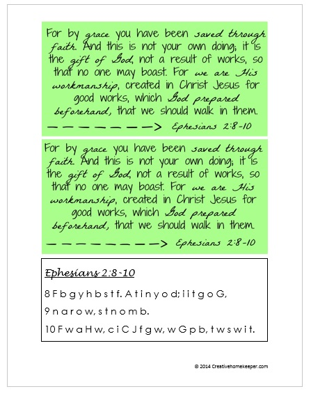 Ephesian 2 8 10 page