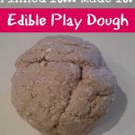 Edible Play Dough {Pinned It… Made It}