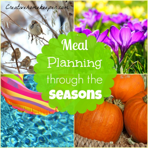 meal planning for the seasons