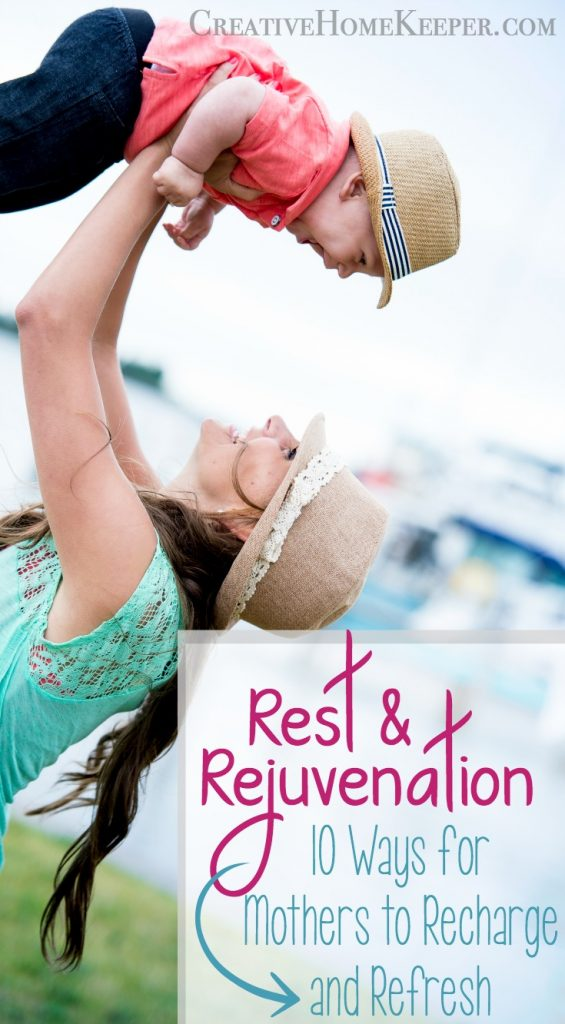 Rest and Rejuvenation for Moms