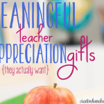 5 Ways to Show Your Child's Teacher Appreciation