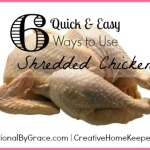 6 Quick and Easy Ways to Use Shredded Chicken