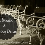 On Breaks and Slowing Down