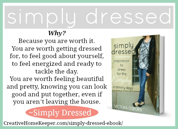 Simply Dressed : Inspiration to Dress for the {Everyday} Ordinary Days