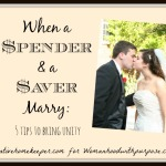 When a Spender and a Saver Marry: 5 Tips to Bring Unity