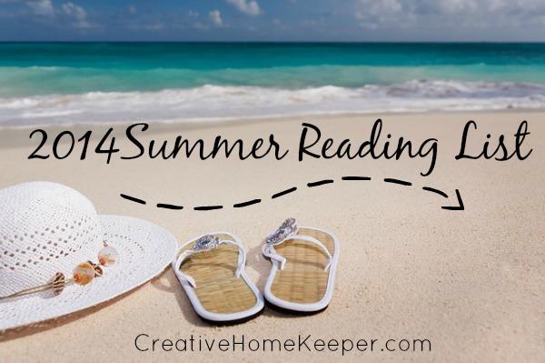 Summer Reading List {Book Notes Link-Up} | CreativeHomeKeeper.com