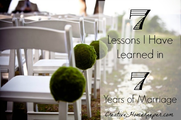 Marriage can be hard but it can be so fulfilling too. 7 lessons I have learned in 7 years of marriage is a reflection of how to build a strong and Godly marriage.