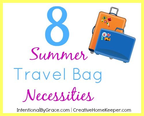 8 Summer Travel Bag Necessities