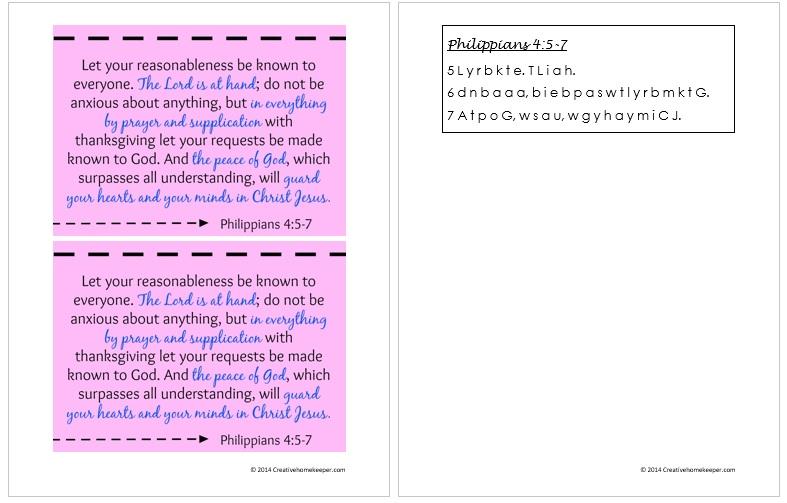 Philippians 4 5 through 7