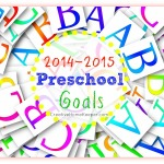 Our 2014-2015 Preschool Goals