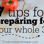 7 Tips for Preparing for Your Whole 30