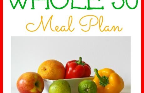Whole 30 Meal Plan {Week One} | CreativeHomeKeeper.com