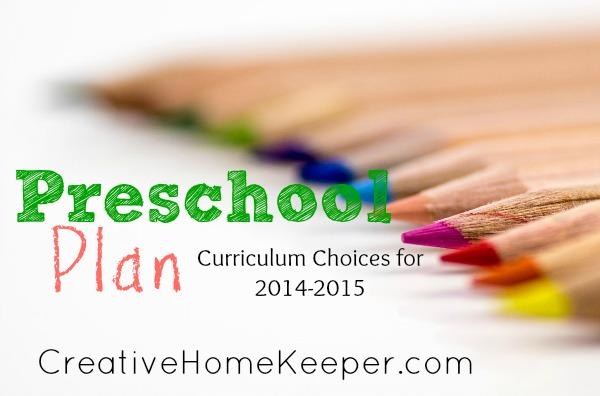 Our Preschool Plan