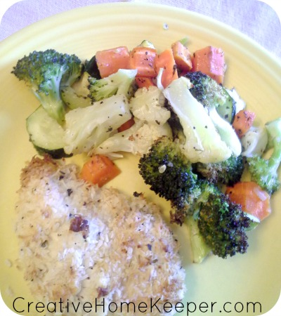 Coconut Chicken, a few ingredients, easy to whip up and super frugal too! Plus it's gluten free, diary free, Paleo and Whole 30 approved too!   CreativeHomeKeeper.com