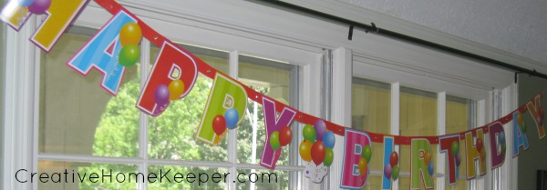 Planning birthday parties on a budget can be done with a little planning, intention and thought. Plus you can download a FREE Party Planning Sheet to help you with your next party. | CreativeHomeKeeper.com