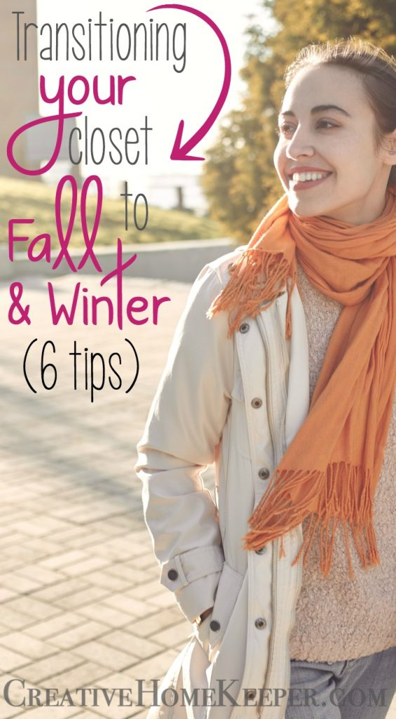 5 Tips for Transitioning Your Closet to Fall & Winter