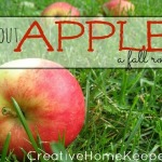 All About Apples {Fall Round Up}