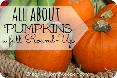 All About Pumpkins {a fall Round-Up}