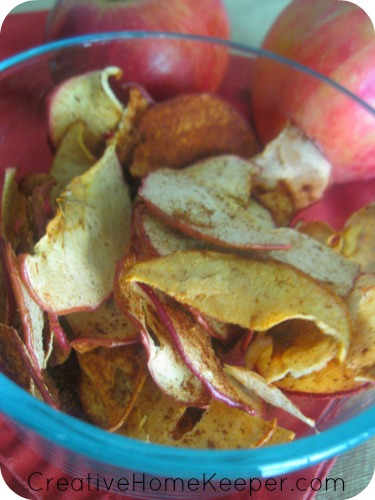 Oh So Easy Apple Chips Creative Home Keeper