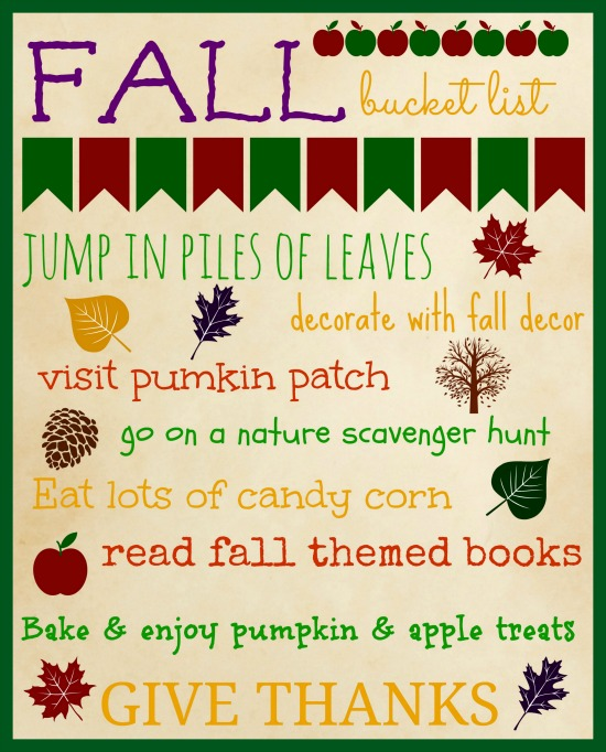 Savoring the Season as a Family is possible with a little intentional planning and thought. Download this simple, FREE Fall bucket list to help prioritize your fall activities making sure that you are able to slow down and savor fall. | CreativeHomeKeeper.com