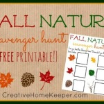 Fall Nature Scavenger Hunt