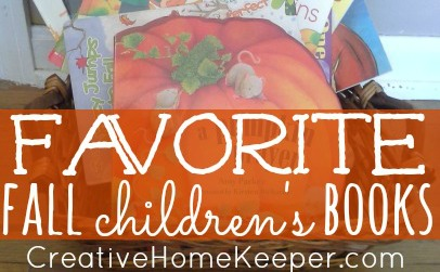 Favorite Fall Children's Books Featured rectangle
