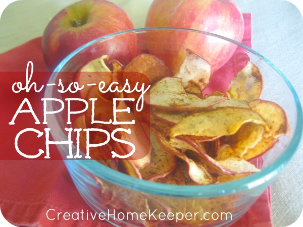 Oh-So-Easy Apple Chips featured